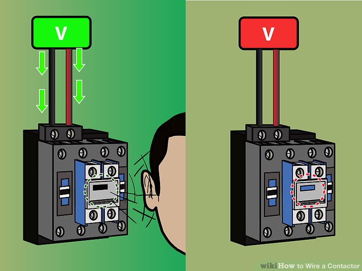 110 volt wiring diagram for intertherm electric furnace how to wire a contactor 8 steps with pictures wikihow image titled step 7