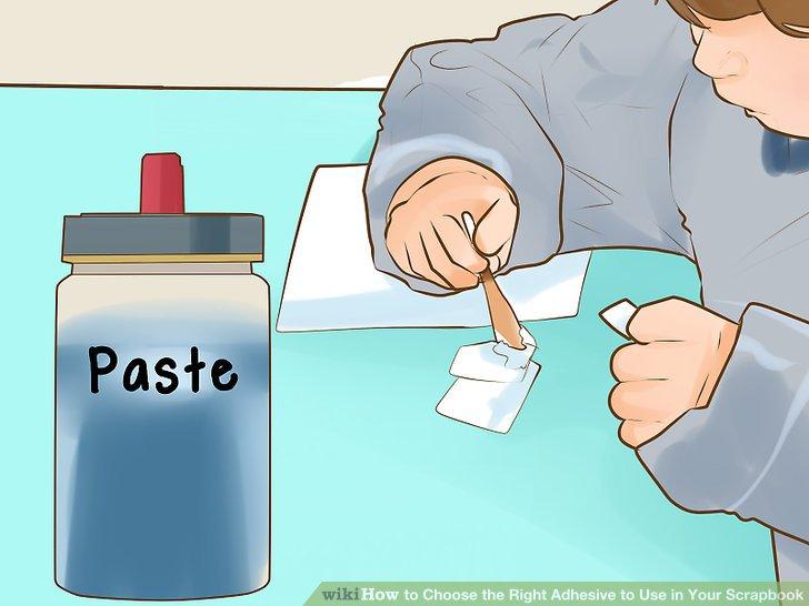 Verwenden Sie Paste für dauerhaftere und dauerhafte Haftung.
