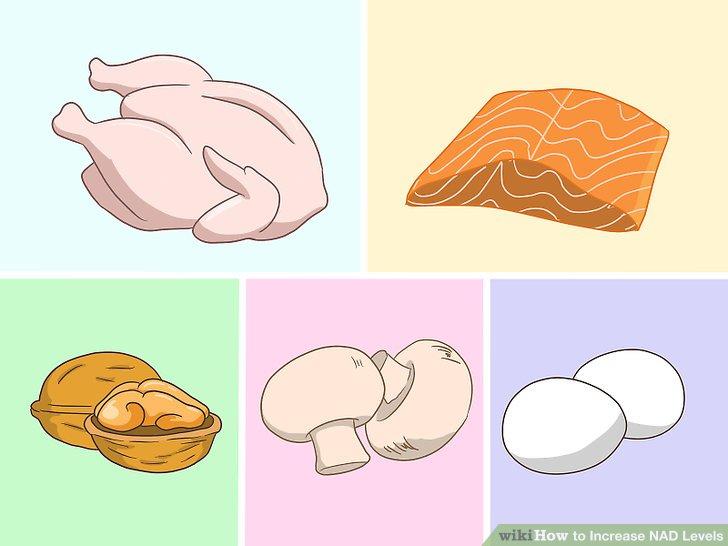 Kanatlı hayvan, balık, kuruyemiş, mantar ve yumurta gibi sağlıklı proteinleri yiyin.