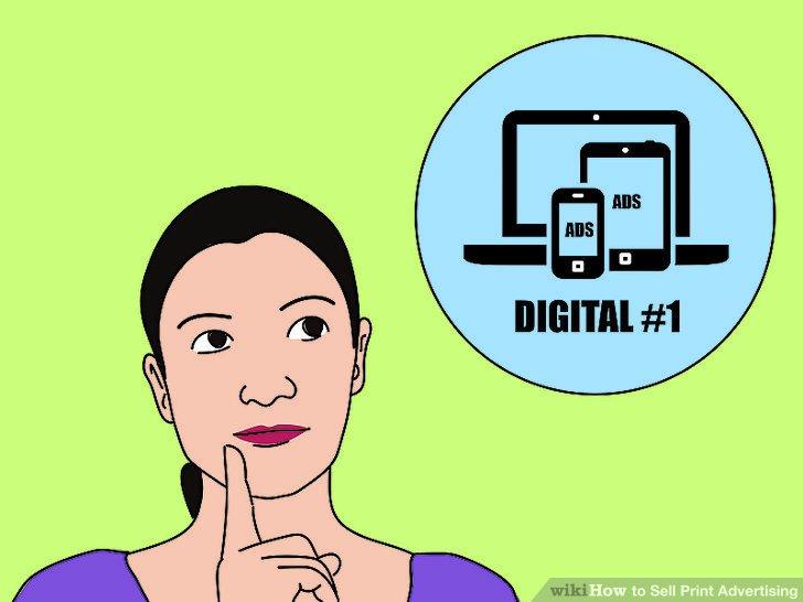 Erwägen Sie zunächst, digitale Anzeigen zu schalten.