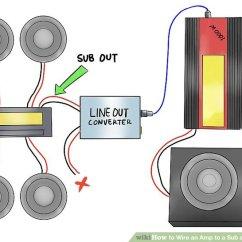 Sub Amp Wiring Diagram Briggs And Stratton Nikki Carburetor Rz Sprachentogo De How To Wire An A Head Unit 12 Steps Rh Wikihow Com Subwoofer Guide