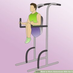 Captains Chair Exercise 2 Lounge Cushions Cheap 4 Ways To Work Abdominals With The Captain S Wikihow Method Performing Image Titled Step