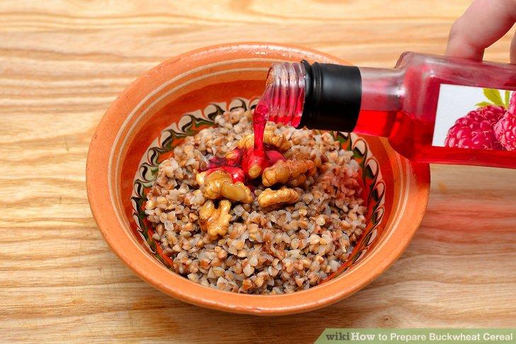 prepare buckwheat cereal