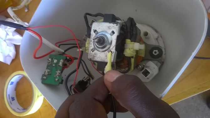 washing machine motor wiring diagram input flow how to rewind an electric 14 steps with pictures made recently