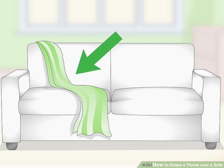 xl sofa throws macy s sleeper full 3 ways to drape a throw over wikihow image titled step 5