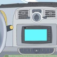 2000 Honda Civic Audio Wiring Diagram 8 Pin Rocker Switch How To Replace The Accord Car Radio With A Bluetooth Image Titled Capable System Step 1