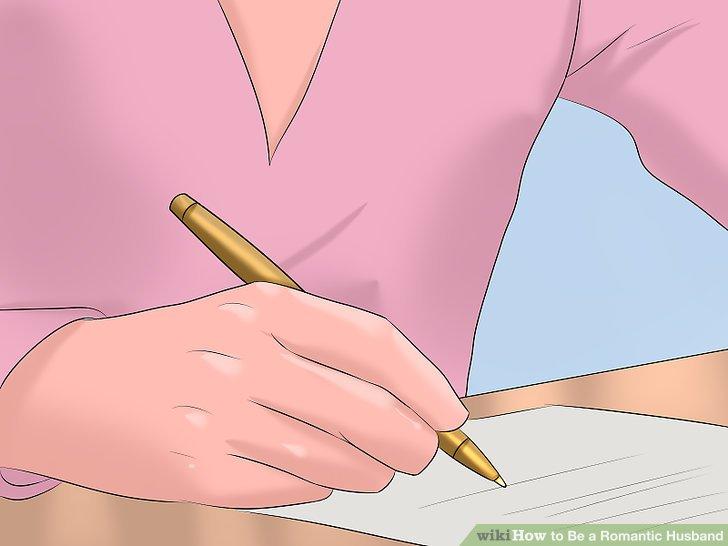 Schicken Sie Ihrem Ehepartner einen Liebesbrief.