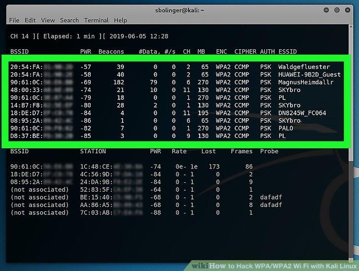 Finden Sie den Router, den Sie hacken möchten.
