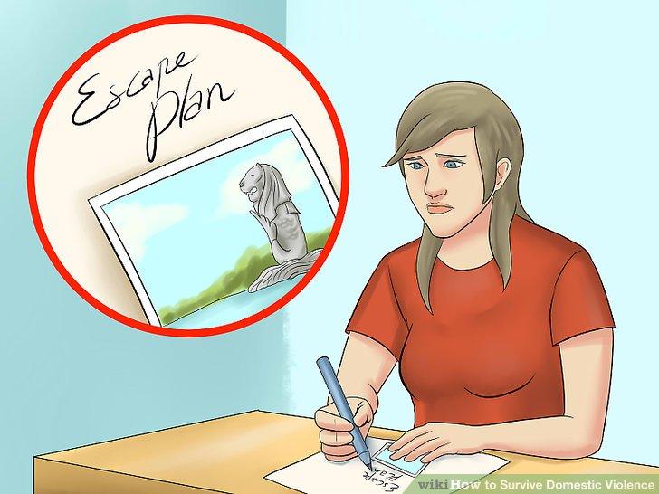 Legen Sie einen Plan fest, um die Beziehung sofort zu beenden.