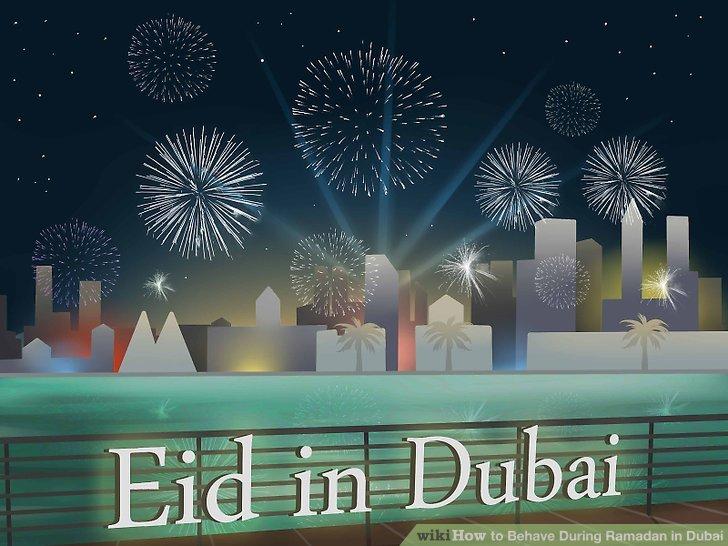 """Lassen Sie sich bei den dreitägigen """"Eid"""" -Feiern nach dem Ramadan fallen."""