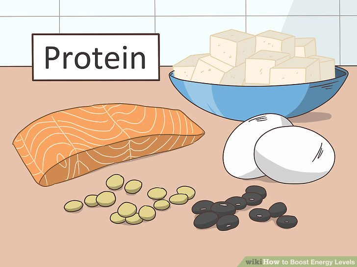 Give your body more protein.
