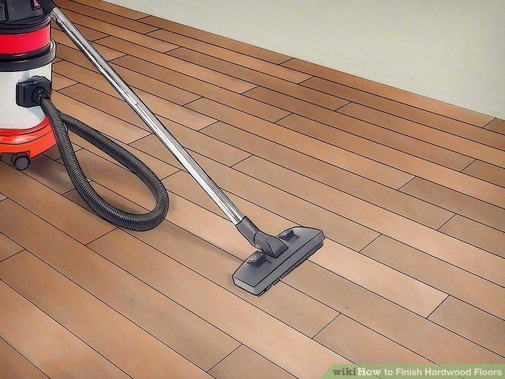 Wenn Sie mit dem Schleifen fertig sind, stellen Sie sicher, dass das Holz sauber ist.