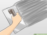 How to Install Slate Tile (with Pictures) - wikiHow