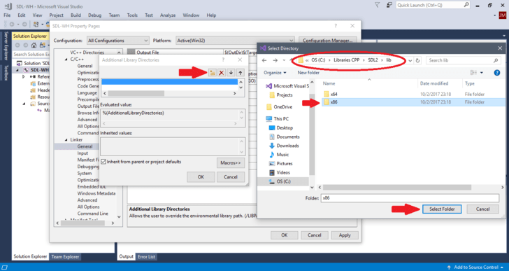 How To? - How to Set Up SDL with Visual Studio 2017