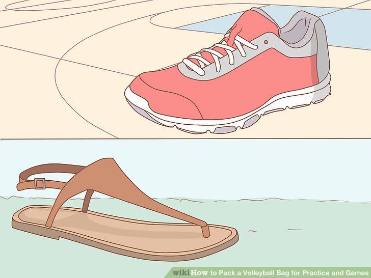 Geeignete Schuhe auswählen.