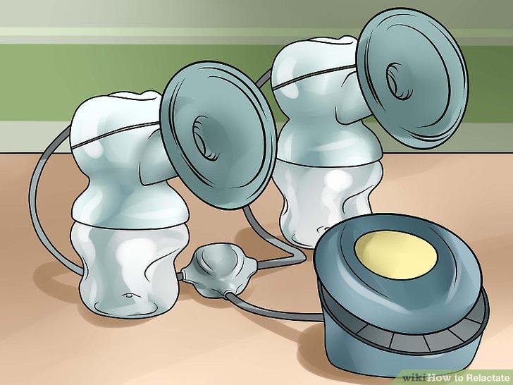 Mieten oder kaufen Sie eine elektrische Pumpe.