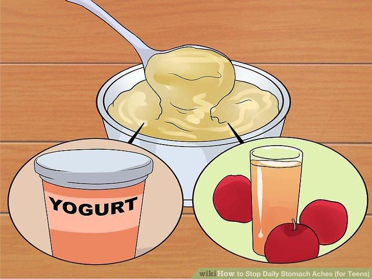Probieren Sie eine Mischung aus Joghurt und Fruchtsaft.