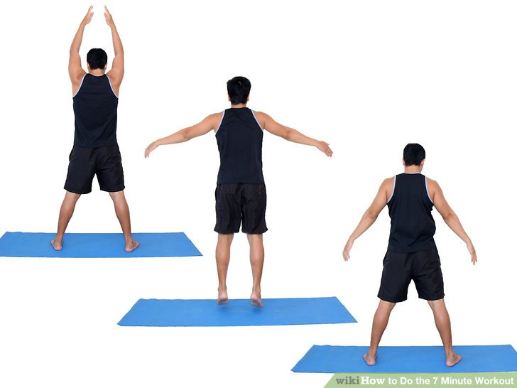 How to Do the 7 Minute Workout 12 Steps with Pictures