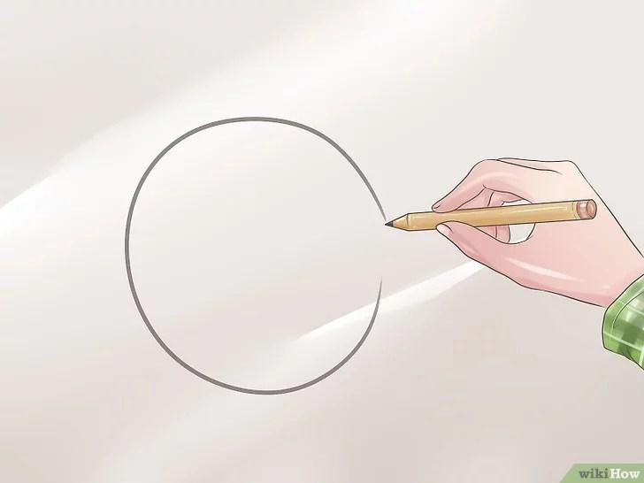3 Cara untuk Menggambar Anime atau Wajah Manga - wikiHow