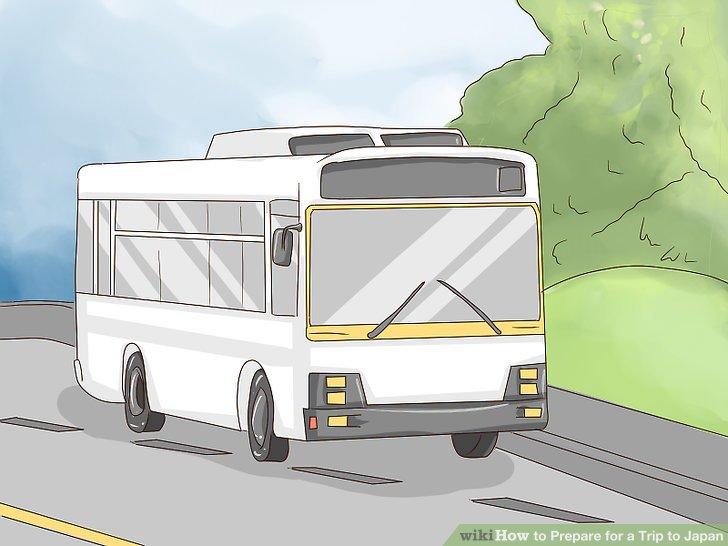 Machen Sie sich mit dem Busverkehr vertraut.
