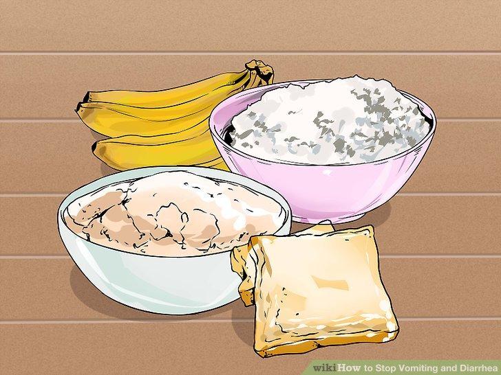 Essen Sie Lebensmittel, die Ihren Magen schonen.