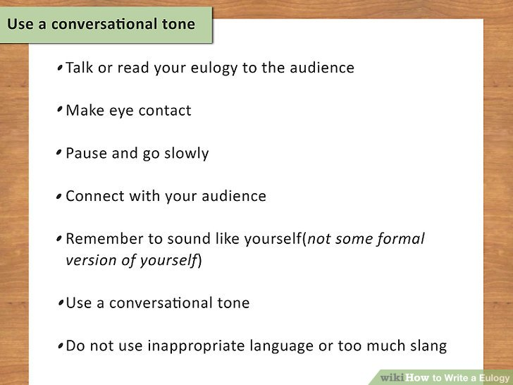 Use a conversational tone.