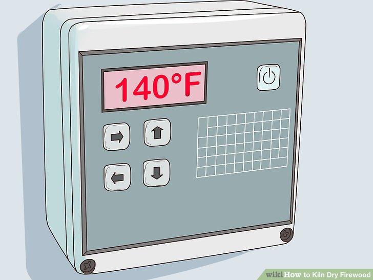 Stellen Sie die Temperatur Ihres Ofens ein.