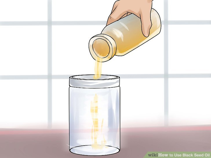 Dilute the oil with water before rubbing it on your skin.