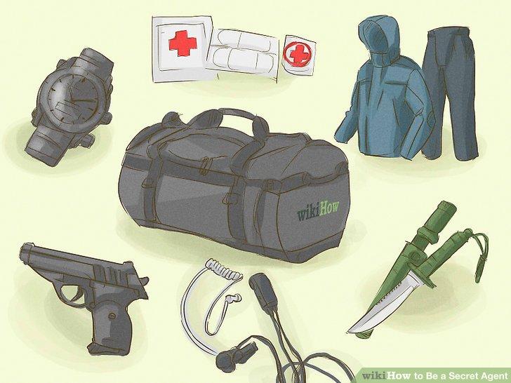 """Bereiten Sie eine """"Go"""" -Tasche vor."""