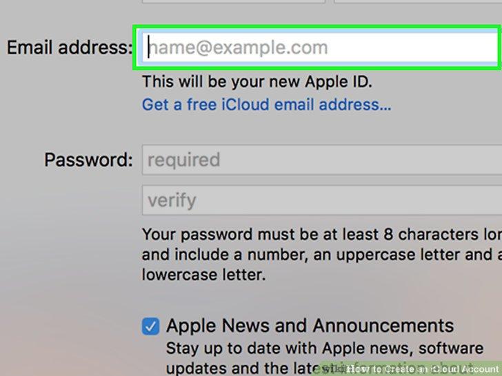 Gib eine E-mail Adresse ein.