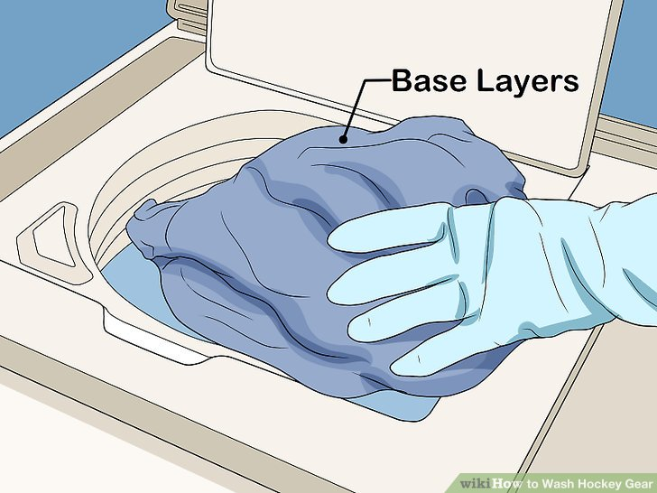 Wash your base layers every time you leave the rink.