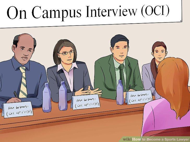 Nehmen Sie an On Campus Interviews (OCI) teil.