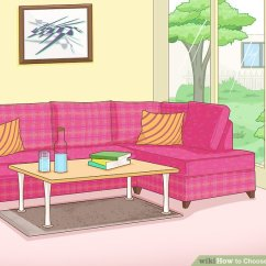 Small Living Room Sofa Color Accent Chairs For White Leather How To Choose A 10 Steps With Pictures Wikihow Image Titled Step 5