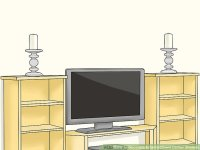 How to Decorate Entertainment Center Shelves: 15 Steps