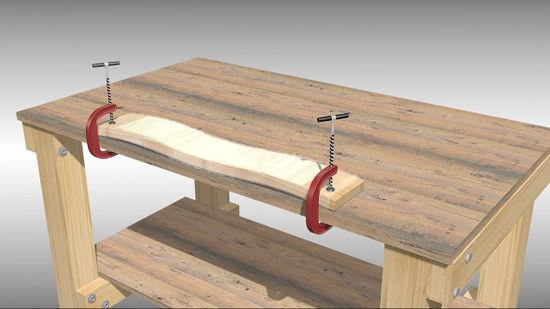 How To Unwarp Wood Plank