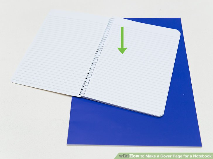 How to Make a Cover Page for a Notebook 14 Steps with