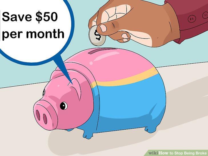 Start saving.