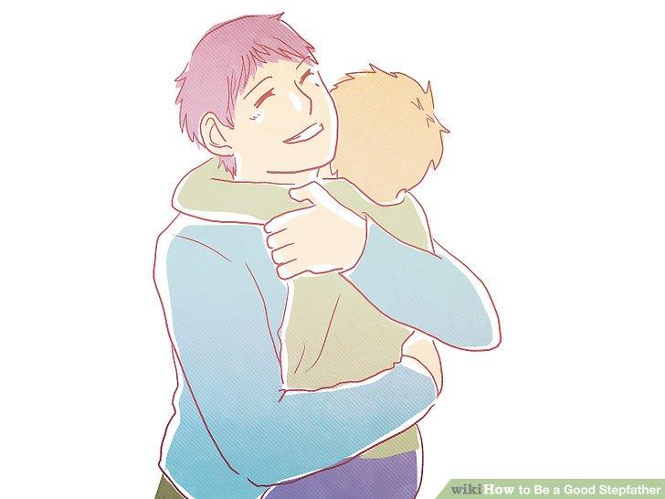 Denken Sie daran, ein Stiefvater zu sein, ist eine Führungsrolle im Team.