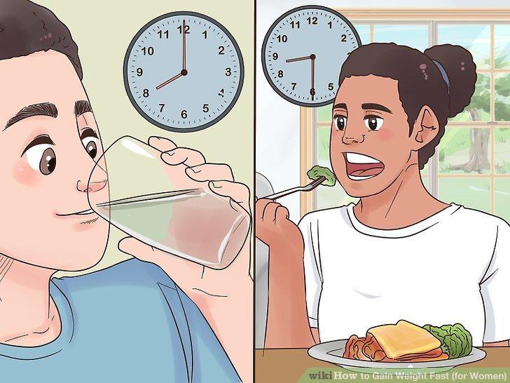 Vermeiden Sie es, 30 Minuten vor einer Mahlzeit zu trinken.