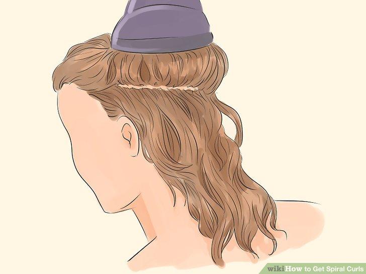 Saçını kurut.