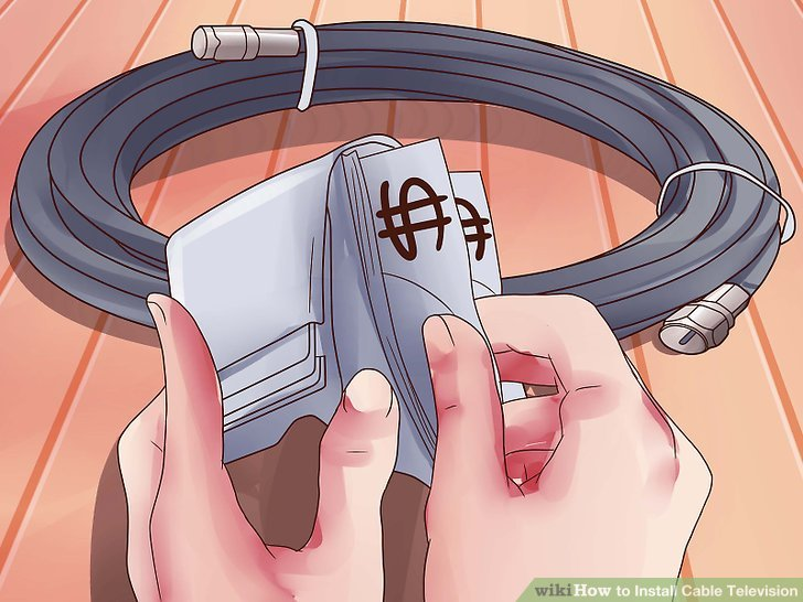 home cable tv wiring diagram ford falcon au installation great of how to install television 14 steps with pictures rh wikihow com power