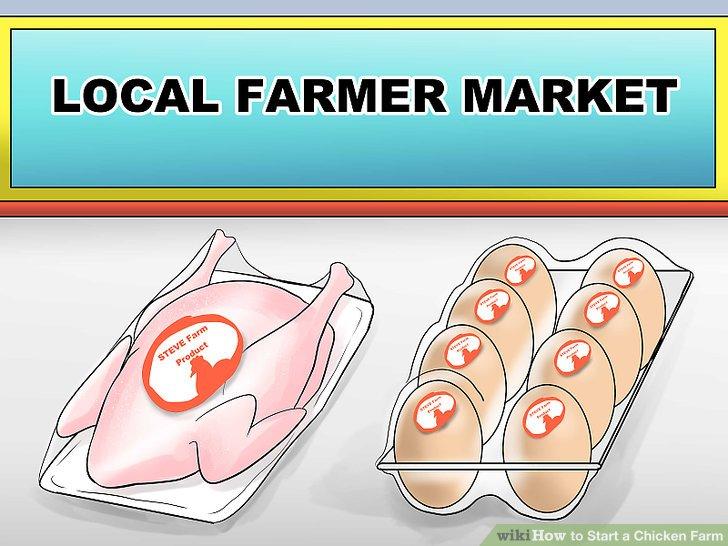 Verkaufen Sie Ihre Produkte auf lokalen Bauernmärkten.