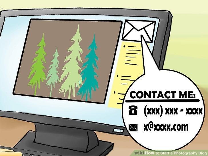 Fügen Sie Ihrer Seite grundlegende Kontaktinformationen hinzu.