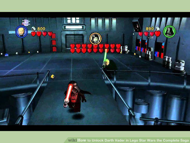 3 Ways To Unlock Darth Vader In Lego Star Wars The Complete Saga