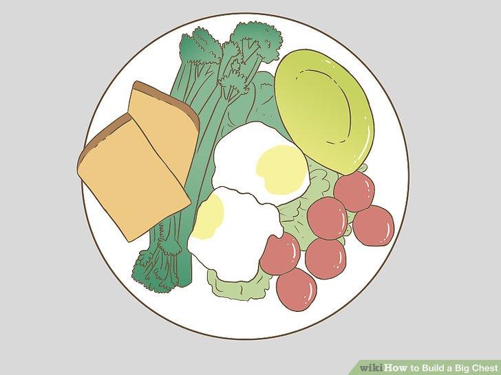Essen Sie viel gesundes Essen.