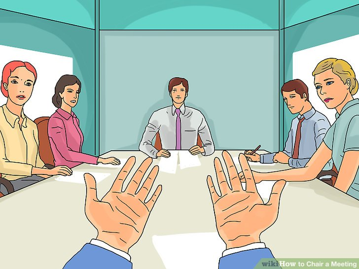 How to Chair a Meeting with Pictures  wikiHow