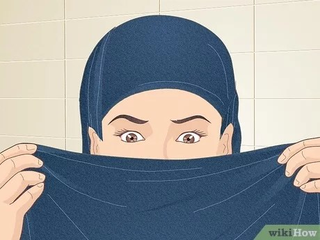 Hijab (countable and uncountable, plural hijabs). 4 Ways To Cover Your Face With A Hijab Wikihow