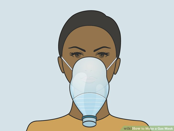 Wear your new gas mask.