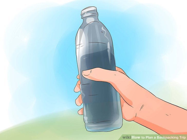 Carry more than enough water to get you from one source to the next.
