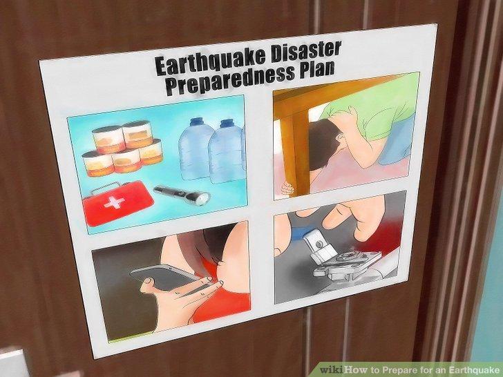 Erstellen Sie einen Notfallplan für Ihr Haus oder Ihren Arbeitsplatz.